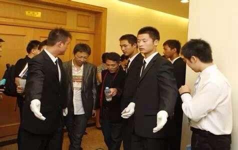 上海保安公司为当红影星黄圣依护卫